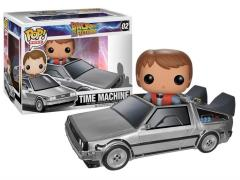 Pop! Rides: Back to the Future - Time Machine with Marty McFly