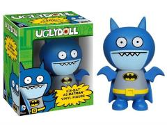 Uglydoll x DC Comics: Ice-Bat Batman Vinyl Figure