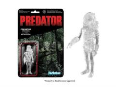 "Predator 3.75"" ReAction Retro Action Figure - Predator Masked Clear"