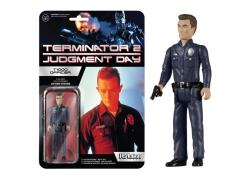 "Terminator 2  3.75"" ReAction Retro Action Figure - T1000 Officer"
