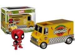 Pop! Marvel Deadpool With Chimichanga Truck