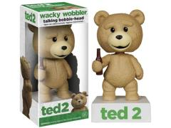 Ted 2 Wacky Wobbler - Talking Ted