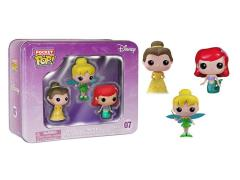 Pocket Pop! Disney 3 piece Tin - Princesses