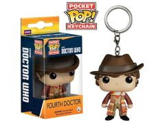 Doctor Who Pocket Pop! Keychain - Fourth Doctor