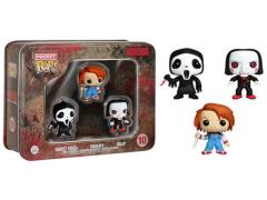 Pocket Pop! Horror Collector Tin - Ghostface, Chucky, Billy