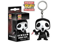 Horror Pocket Pop! Keychain - Ghostface