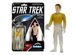 "Star Trek 3.75"" ReAction Retro Action Figure - Captain Kirk Beaming Exclusive"