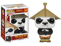 Pop! Movies: Kung Fu Panda - Po With Hat