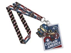 Pop! Home Lanyard: Marvel - Captain America