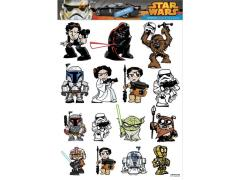 Fan Wraps Car Decals Star Wars Heroes & Villains Family Graphics