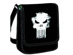 Marvel Heroes Logo Comic Book Messenger Bag - Punisher