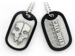 Call of Duty Ghosts Skull Dog Tags
