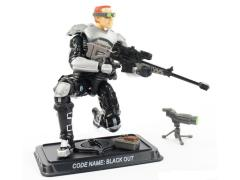 G.I. Joe Black Out Subscription Figure