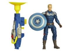 Captain America Super Soldier Gear Figures Series 01 - Grapple Cannon Captain America
