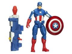 Captain America Super Soldier Gear Figures Series 01 - Shockwave Blast Captain America