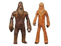 "Star Wars 3.75"" Mission Wave 02 (New Packaging) - Wullffwarro & Wookie Warrior"