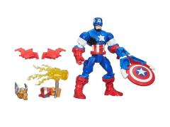 "Avengers Super Hero Mashers 6"" Battle Upgrade Figure Wave 03 - Captain America"