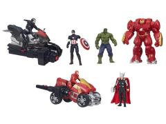 "Avengers: Age of Ultron 2.50"" Deluxe Figure Wave 1 Set of 3"