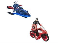 Avengers Titan Hero With Vehicle - Set of 2 (Iron Patriot & Captain America)