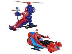 Spider-Man Web Warriors Titan Hero With Vehicle Series 01 - Set of 2