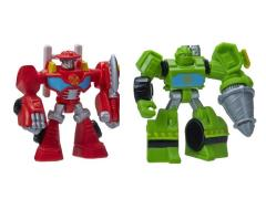Transformers Rescue Bots Featured Bots Wave 01 - Set of 2 (Heatwave & Boulder)