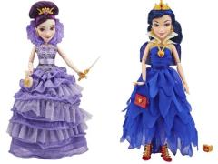 Disney Descendants Villain Descendants Coronation Figure Wave 01 - Set of 2  (Mal & Evie)
