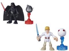 Star Wars Galactic Heroes Featured Figure Wave 01 - Set of 2 (Darth & Luke)