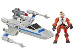 Star Wars Hero Mashers Attack Vehicle & X-Wing Pilot