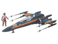 "Star Wars 3.75"" Poe Dameron's X-Wing (The Force Awakens)"