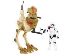 Star Wars Desert Assault Walker with First Order Stormtrooper Officer (The Force Awakens) Exclusive