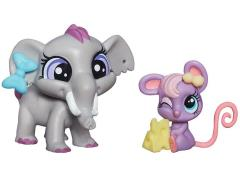 Littlest Pet Shop Pet Pawsabilities Series 03 - Elephant & Mouse