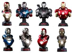 Iron Man 3 HTB14-20 1/6th Scale Collectible Bust Deluxe Set (Case)