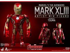 Avengers: Age of Ultron Artist Mix Collectible Figure Series 01 Iron Man Mark XLIII