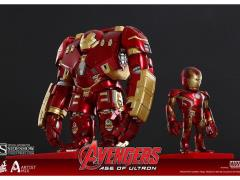 Avengers: Age of Ultron Artist Mix Collectible Figure Series 01 Hulkbuster & Mark XLIII Damaged