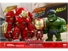 Avengers: Age of Ultron Cosbaby Vinyl Collectible Series 01.5 Set of 3