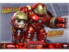 Avengers: Age of Ultron Cosbaby Vinyl Collectible Series 02.5 Hulkbuster & Tony Stark