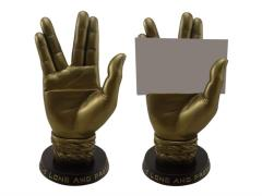 Star Trek Spock Hand Business Card Holder