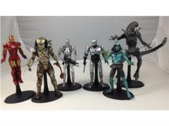 1/10 Scale Action Figure Stand Five Pack