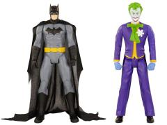 "DC Universe 20"" Figure Batman & Joker Two Pack"