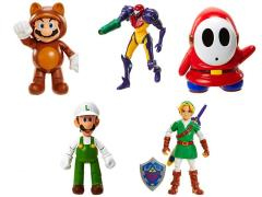 "World of Nintendo 4"" Figure Series 04 - Set of 5"