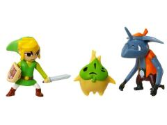 Mario Brothers U Micro Figure Three Pack Wave 04 - Link, Makar, Bokoblin