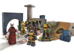 TMNT Paper Craft - Turtles Lair Deluxe Pack