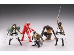 Attack on Titan Real Figure Collection Wave 1 Box of 12 Figures