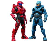 Halo ArtFX+ Mjolnir Mark V & Mark VI DX Statue Two Pack