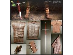 1/6 Scale William Wallace Scottish Highlander Uniform Set