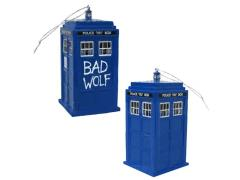 Doctor Who Bad Wolf Tardis Ornament With Sound Exclusive
