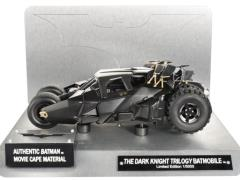Hot Wheels 1:18 Scale Elite Cult Classics Dark Knight Trilogy Batmobile With Cape Swatch
