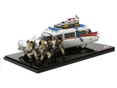 Hot Wheels Elite Cult Classics - 1:18 Scale Ecto-1 30th Anniversary With Figures