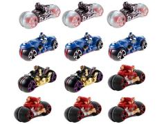Marvel Hot Wheels Avengers Motorcycle With Rider Wave 01 - Case of 12