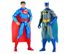 "DC Comics 12"" Figures Series 01 - Set of 2 (Superman & Batman)"